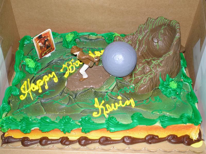 Kevin\'s Birthday Cake