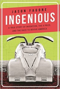Cover of Ingenious book with IMW 7 car on it